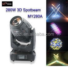 CE and RoHs Newest Most Popular Robe Pointe 3D 280W 10R Moving Head Spot Beam Wash Disco Light Robe Pointe