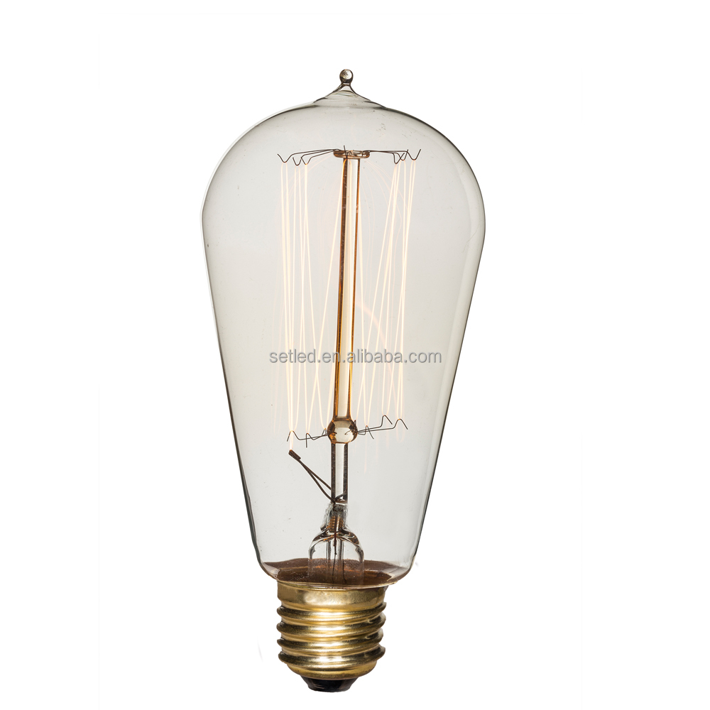 wholesale edison light bulb with top quality 60w edison. Black Bedroom Furniture Sets. Home Design Ideas