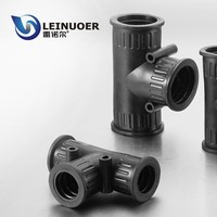 IP 65 3-way T-shaped rubber pipe joints