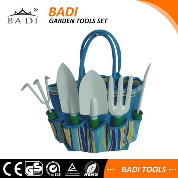China Gold Supplier 2016 New Design 5pcs names garden tools with bag