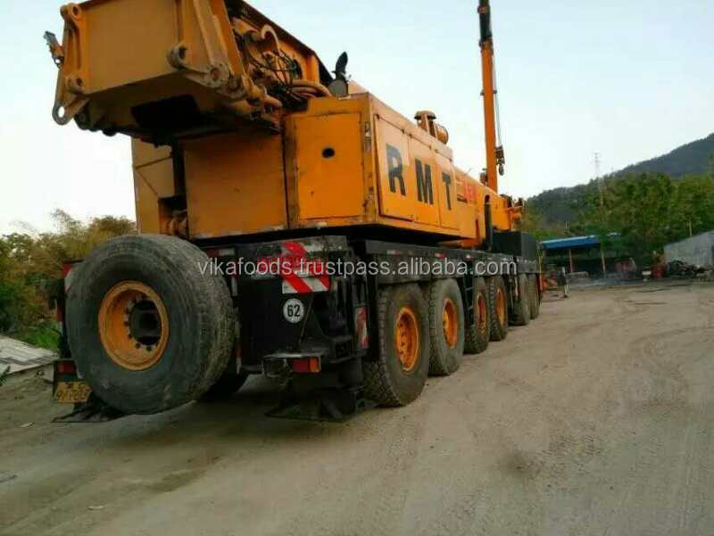 Good quality Krupp KMK6200 used/secondhand 2001 mobile crane Germany 200t truck crane sale in Shanghai