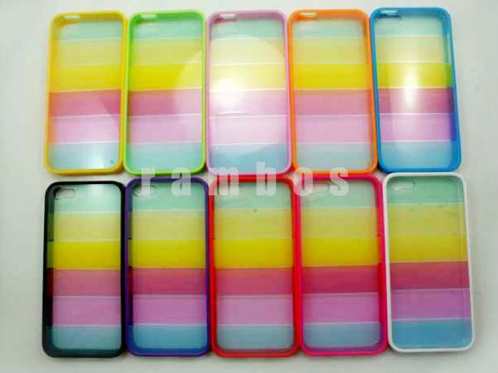 For New Rainbow Phone Case, New Hard Case for iPhone5 5G