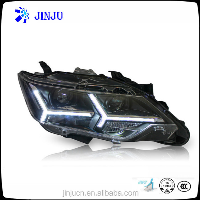 High brightness Modified 2015 Toyota Camry Headlamp Assembly car LED light auto headlight