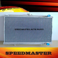 For NISSAN SKYLINE GT-R R34 MT 99-01 All aluminum radiator