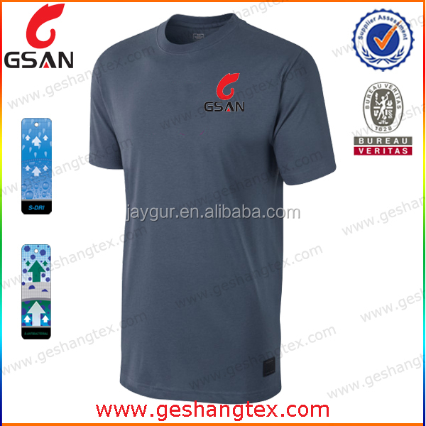 Men's casual fitness customised t-shirt Dri fit slim fit