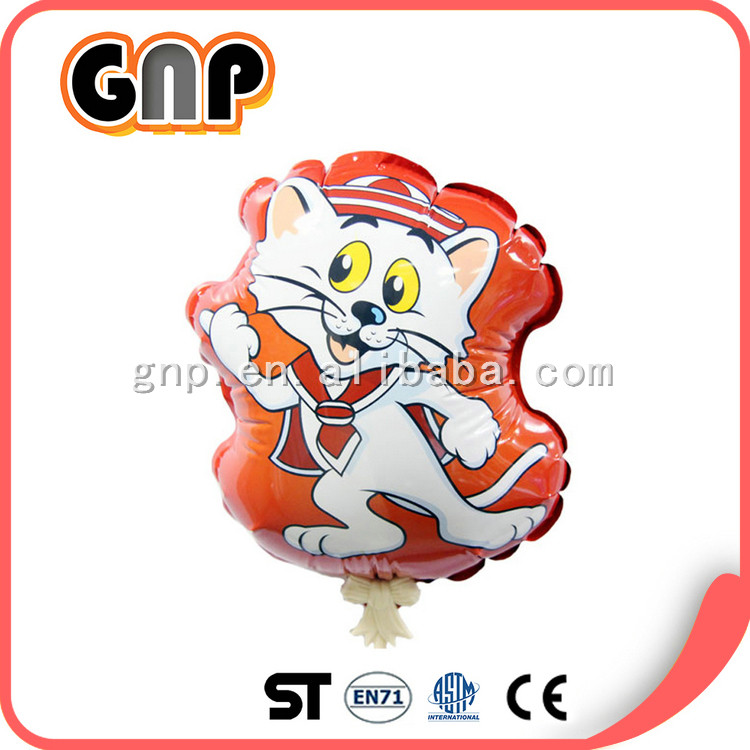Auto inflatable water printed balloon for party decoration