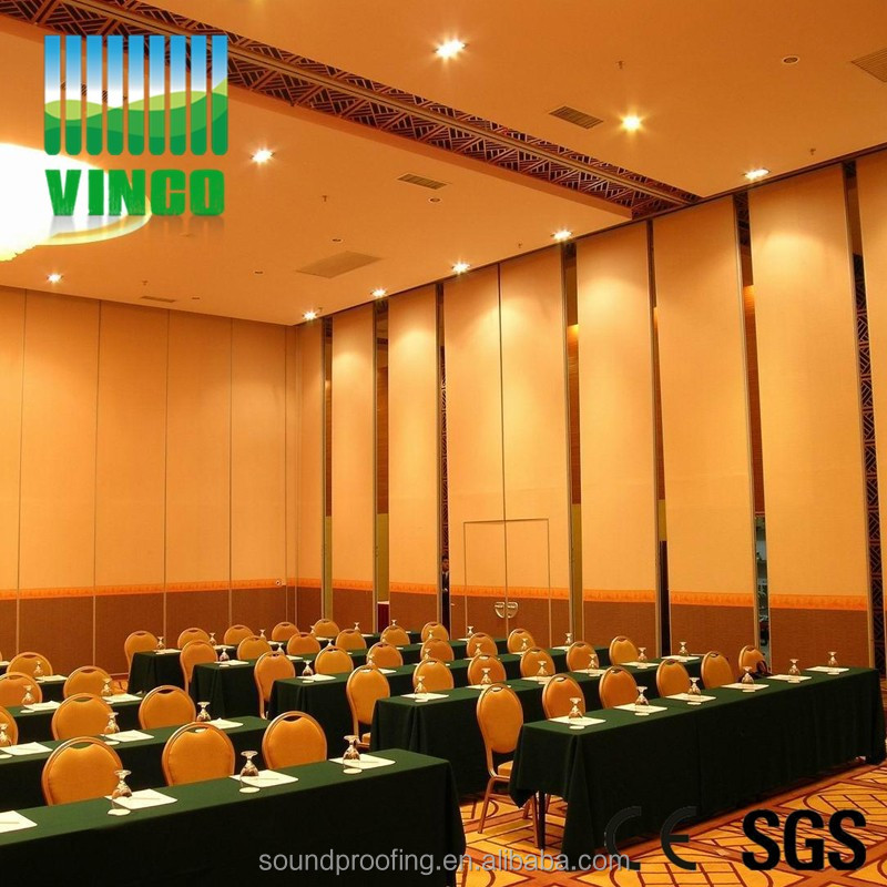 office partioning banquet hall movable panel or church door for types of partition walls