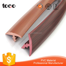 plastic T-shaped rubber molding trim for table paneling edging
