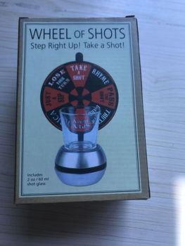 hot sale Roulette Wheel Table Spinning Shot Glass Drinking Game