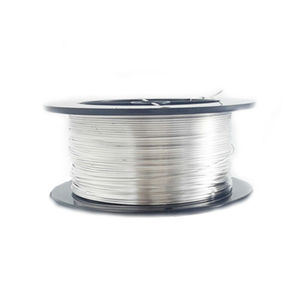 Shinning surface 99.999 electrical pure silver coated copper wire