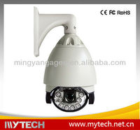Speed Dome Camera, 700TVL, 1/3-inch Sony Exview HAD II CCD and Intensified Aluminum Alloy Housing