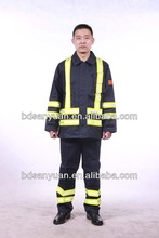 EN11612 flame retardant forest fire proof clothes fireman garments clothing