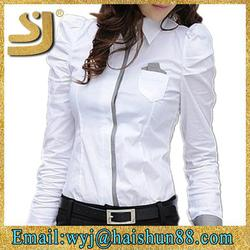 wholesale stylish top brand office uniform shirts wholesale
