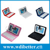 "9"" PU Leather Stand Case + Micro USB Keyboard with Touch Screen Stylus Pen for 9 inch Android Tablet PC"