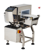 NDC-Symmetric D food metal detector for fresh food, bakery, meat, metal checking system automatic packing machine