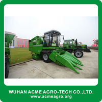 The corn combine harvester High Efficiency new agriculture machine Advanced Technology and Efficient Operation.