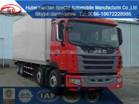 JAC heavy duty refrigerator truck for sale used cargo truck for transport meat and ice cream