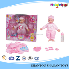 Hot saling children plastic toy small fat baby doll