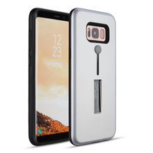 For samsung galaxy s8 tpu pc phone case,finger strap kickstand for samsung s8 plus case cover