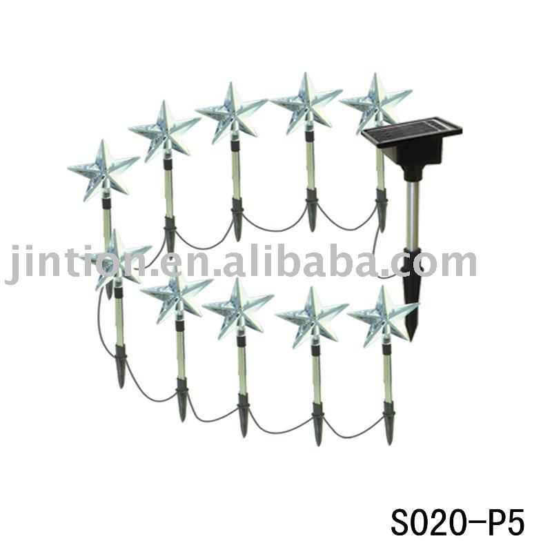 Five-pointed Star Solar Chrismas String Light festival light