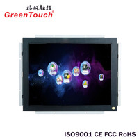 shenzhen factory Industrial use LCD open frame Monitor 15 inch TFT LCD touch monitor
