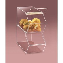New design product clear acrylic bulk food bin
