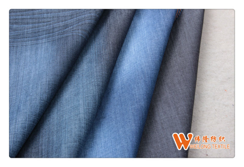 B1449-A Cotton/Spandex Elastic Denim Fabric for Jeans
