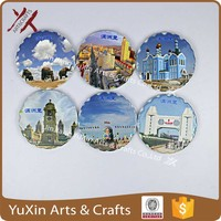 ceramic magnet by print any pictures for fridge crafts and gifts tourist souvenir