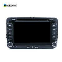 wholesale 2 din 7 inch Car DVD Player with GPS Navigation TV BT IOPD FM AM for VW Magotan