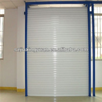 Vertical Security metallic roller shutter door