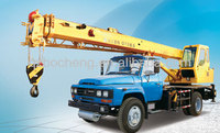 New XCMG QY8B.5 8 ton design of mobile crane 7 ton truck cranes
