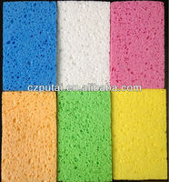 Kitchen clean cellulose sponge
