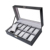 12 Grids Wholesale Leather Wrist Watch Storage Box Case