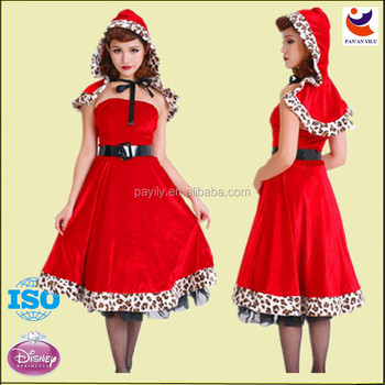 Women party dress or christmas buy red christmas wedding dress 2014