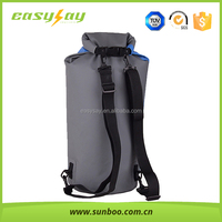 Hot selling 2 straps dry bag backpack with double straps