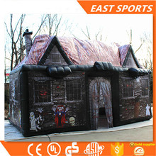 New design halloween big inflatable haunted bounce houses for sale