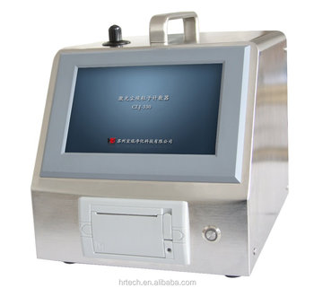 28.3L/min touch screen Laser Airborne Particle counter