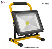 china outdoor IP65 lantern 10w flood small battery led lights