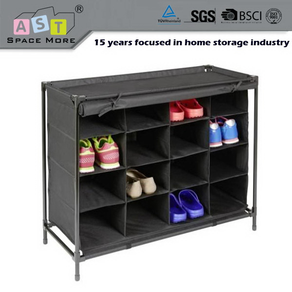 China best choice low cost retractable shoe rack closet organizer