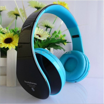 2014 cheap wireless bluetooth headphone with TF card and FM