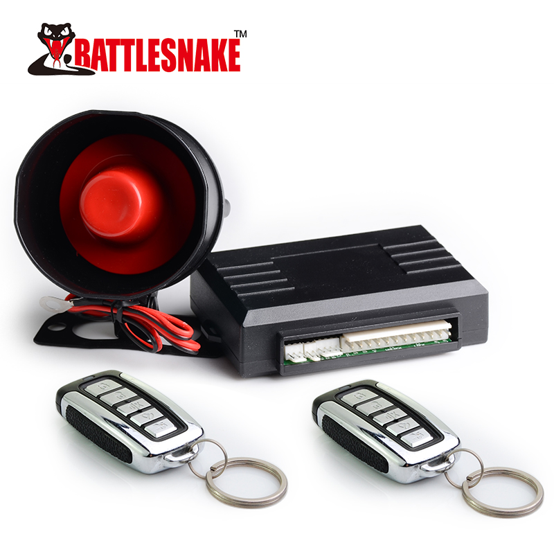 Safeguard Car Alarm One Way Car Immobilizer Products Remote Anti-hijacking Car Alarm