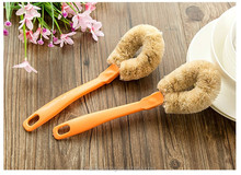 Non-stick oil boiler bowl cleaning brush bottle cleaning brush long handle cleaning brush