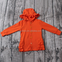 2016 yawoo multi color cotton long sleeve fall hoodie cardigan kids clothes wholesale china