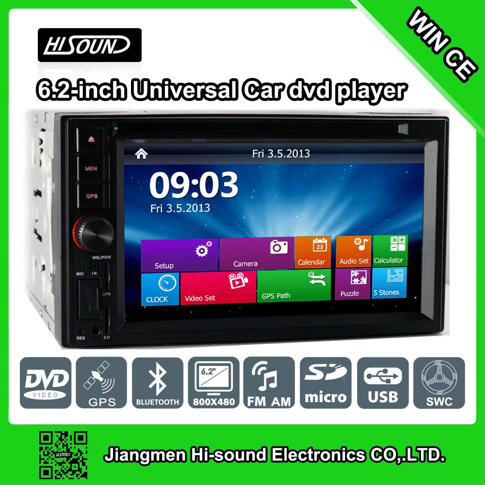 Hot Selling 6.2'' 2Din With Gps/Bt Car Audio Dvd Player For Chevrolet Spin