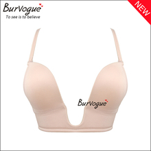 Burvogue U Plunge <strong>Sexy</strong> Brassiere Seamless Push Up Bras <strong>Underwear</strong> Wholesale Cheap