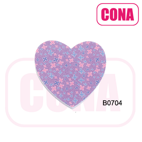 Wholesale high quality high quality hearts shape nail file