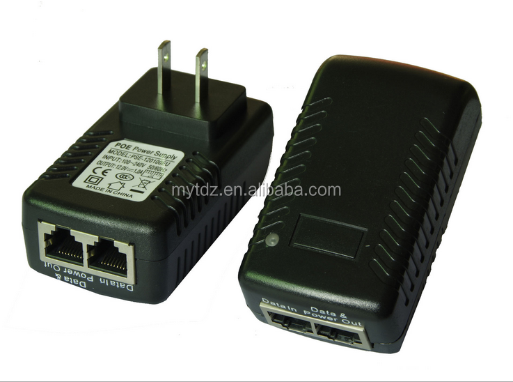 POE adapter 48V 802.11AF / AT standard splitter wireless AP POE power supply cable wholesale