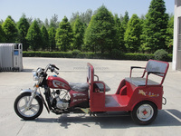 125cc China motorized passenger motorcycle tricycle
