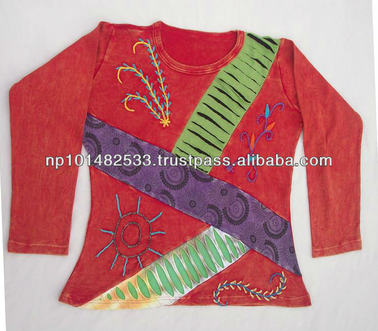 Ladies Hippie Rib Top