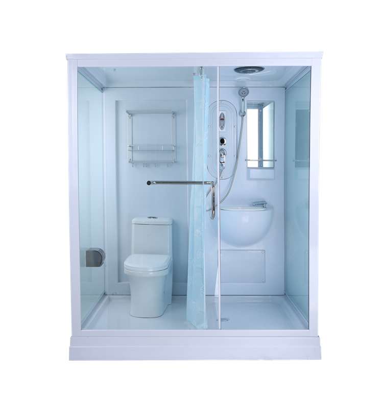 AJL-5801 Prefabricated Bathroom, Professionl Toilet Cabin Bathroom Shower